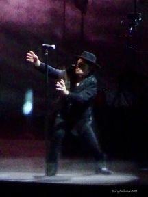 Bono as Shadowman U2 The Joshua Tree Tour Perth Nov 27 2019