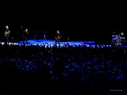 U2 and crowd The Joshua Tree Tour Perth Nov 27 2019