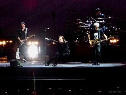 * U2 bono pole The Joshua Tree Tour Perth Nov 27 2019
