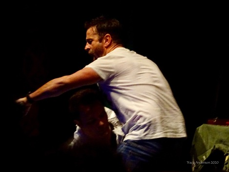 David Haydn-Jones and Adam Fergus No Touch Greeting Corona Virus SPNLV Mar 2020