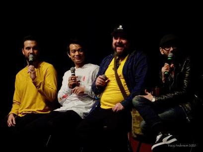 Gil McKinney Osric Chau Chris Gauthier DJ Qualls SPNLV Mar 2020