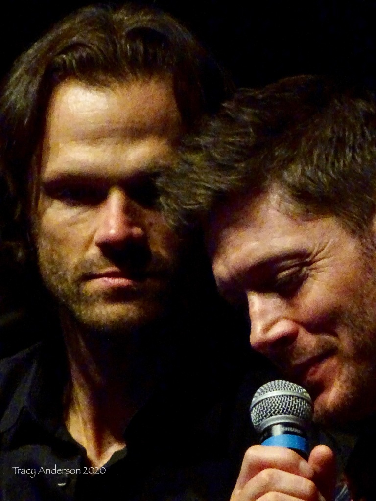 Jared Padalecki and Jensen Ackles Supernatural Convention Las Vegas SPNLV March 2020