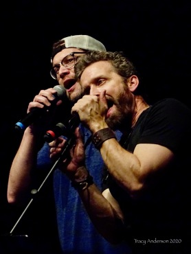 Jason Manns and Rob Benedict The Station Breaks SPNLV Mar 2020