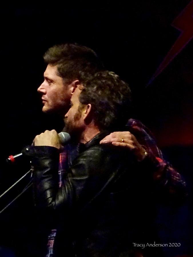 Jensen Ackles and Rob Benedict SPNLV Mar 2020