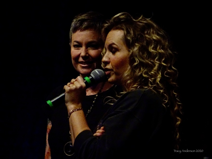 Kim Rhodes and Briana Buckmaster Supernatural Convention Las Vegas SPNLV March 2020