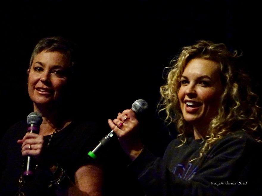 Kim Rhodes and Briana Buckmaster SPNLV Mar 2020
