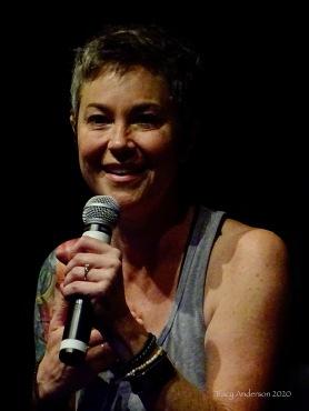 Kim Rhodes smile SPNLV Mar 2020