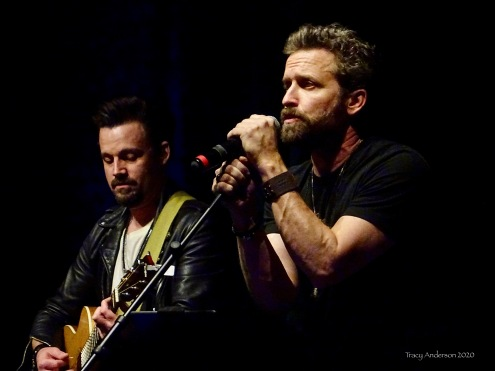 Louden Swain Billy Moran and Rob Benedict SPNLV Mar 2020