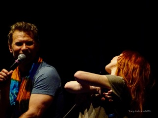 Mark Pellegrino and Ruth Connell 2 SPNLV Mar 2020