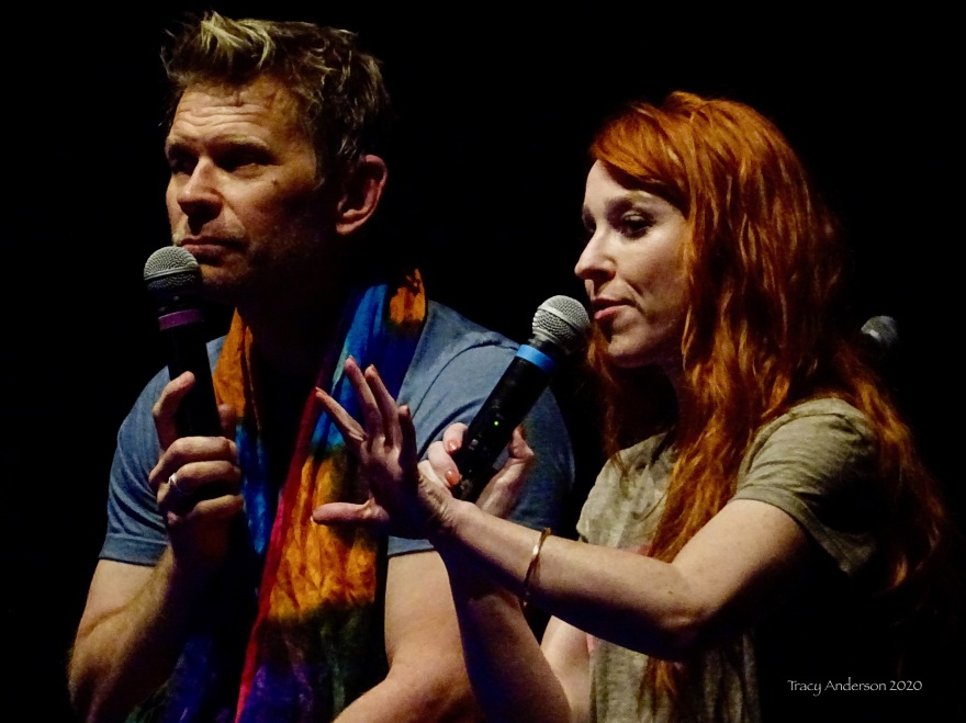 Mark Pellegrino and Ruth Connell Supernatural Convention Las Vegas SPNLV March 2020