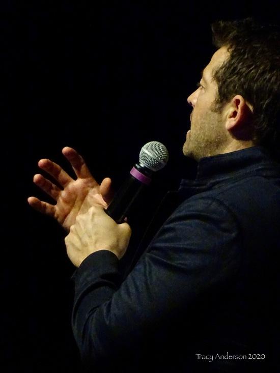 Misha Collins angle SPNLV Mar 2020
