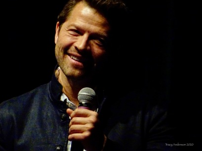 Misha Collins smile SPNLV Mar 2020