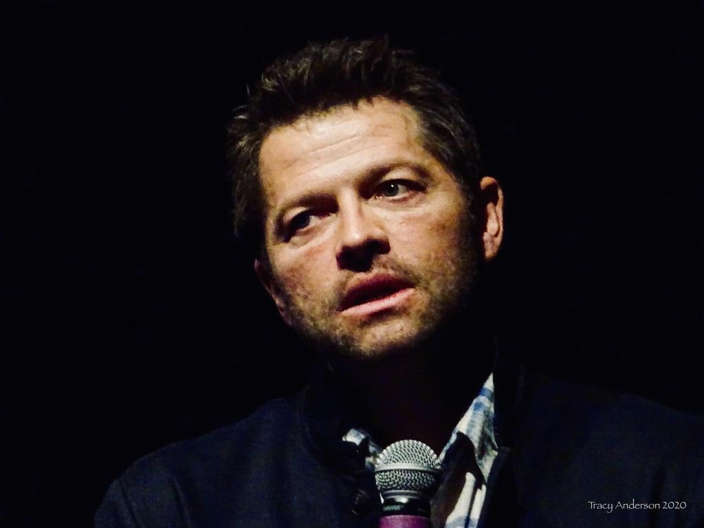 Misha Collins Puppy Eyes