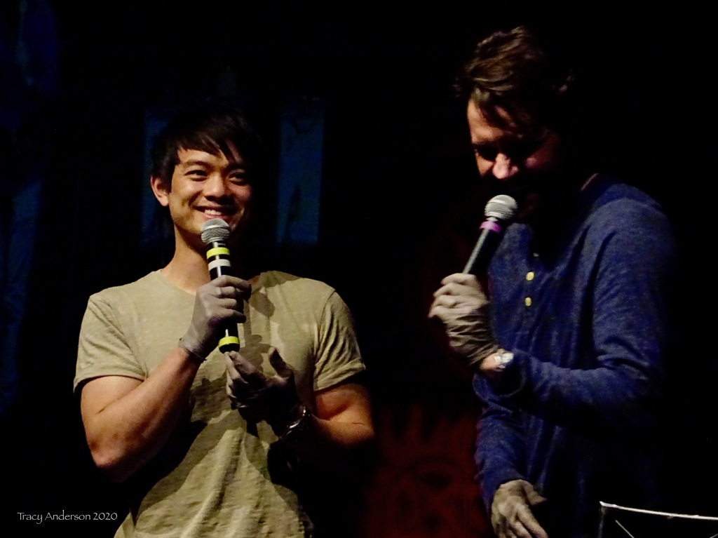 Osric Chau and Gil McKinney Supernatural Convention Las Vegas SPNLV Mar 2020