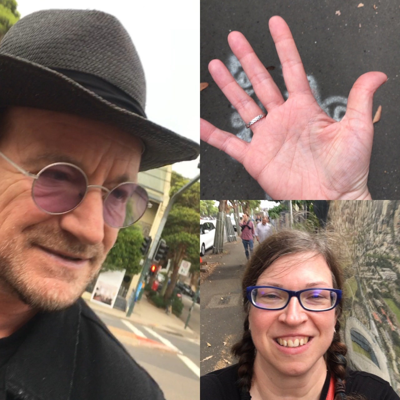 meeting Bono in Australia 2019