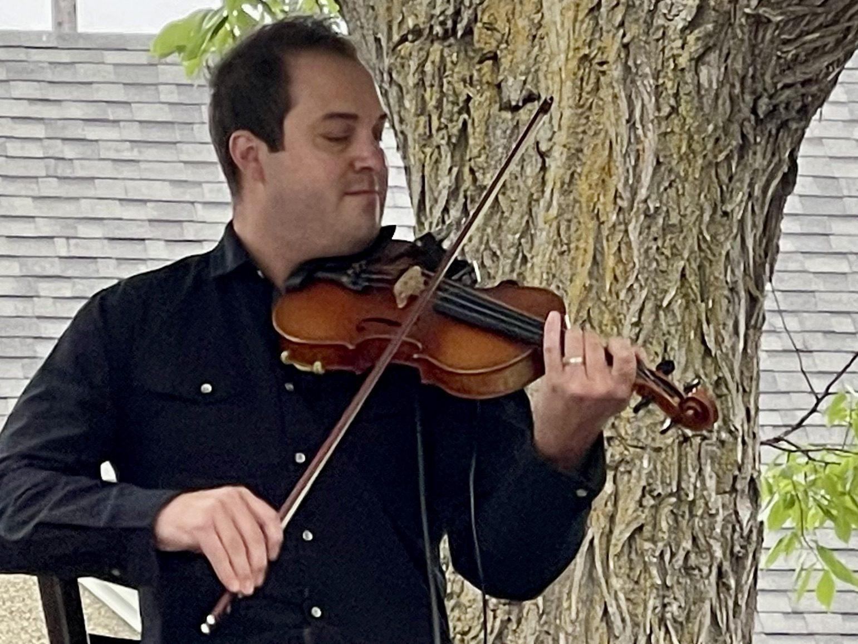 Edmonton Folk Music Festival 2021 Daniel Gervais Close Up