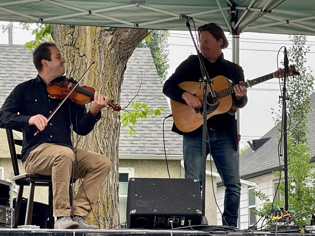 Edmonton Folk Music Festival 2021 Daniel Gervais